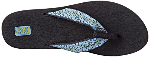 Fronds Women's Black Companera Flop II Mush Teva Two Pack Blue Flip 0Fq60d
