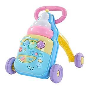 Andador Bebe HUYP Baby Walker Toddler Stroller Rollover Empuje El ...