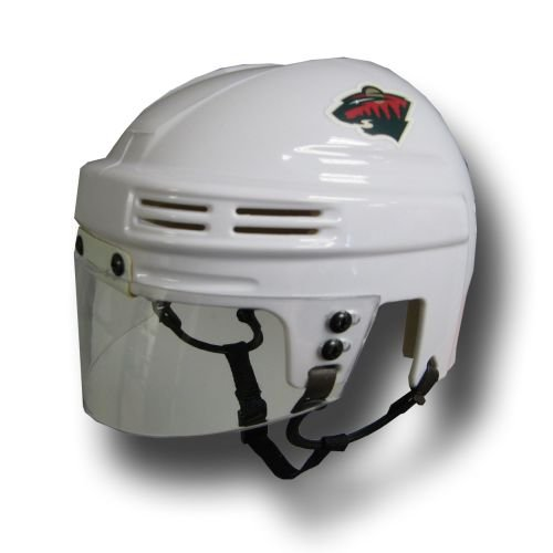 NHL Minnesota Wild Replica Mini Hockey Helmet SportStar BAHKYMMINW