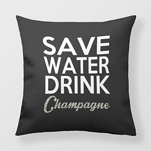 Lightinglife Sofa Cushion Party Square Pillow Like Drink Decorative Pillow 20 X 20