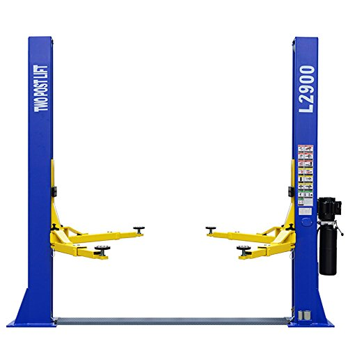 Post Lift (L2900 Car Lift 9,000 LB 2 Post Lift Car Auto Truck Hoist w/ 12 Month Warranty 220V)