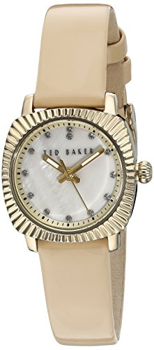 Ted Baker Women's 10024723 Mini Analog Display Japanese Quartz Nude Pink Watch