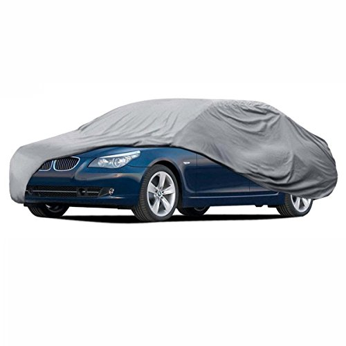Car Cover for BMW 5 Series Waterproof Sun Dust Proof Breathable 4 Layers Outdoor ()