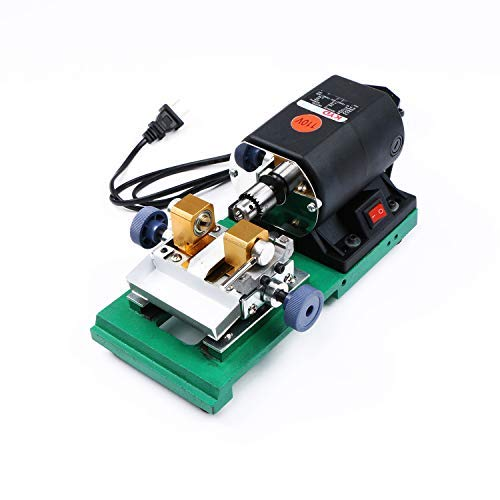 Pearl Drilling Machine- 110V Drill for Holing Pearls with 6 Quality Drill Bits and 10 Pairs of Collets Solid Product Glass Quartz and Aluminum a U.S