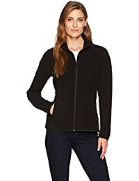 Women's Classic Fit Long-Sleeve Full-Zip Polar Soft Fleece Jacket