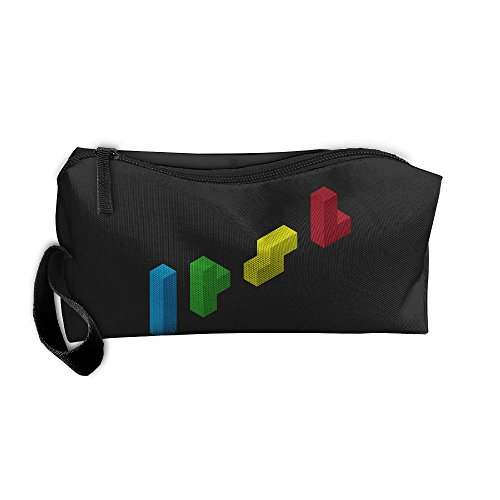 Minimalism Block Zipper Up Portable Bag Fashion Coin Purse For - Online Rolf Glasses