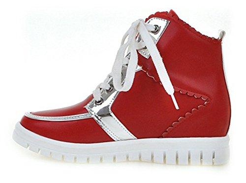 E Tacco Zeppa Con Donna Chfso Sneakers Alla Caviglia A wHCqgP8
