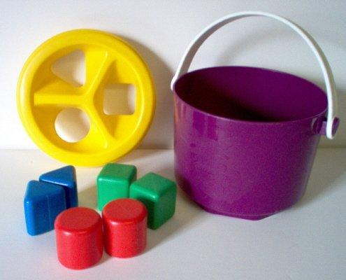 Tupperware Shape Sorter - Bucket Sorter