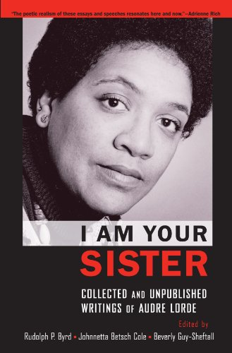 Books : I Am Your Sister: Collected and Unpublished Writings of Audre Lorde (Transgressing Boundaries: Studies in Black Politics and Black Communities)