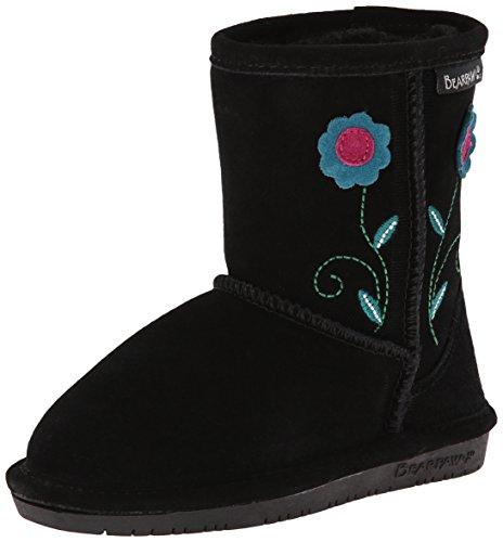 Bearpaw Buttercup Toddler Boot (Toddler/Little Kid),Black...