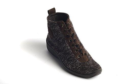 Arcopedico 1361 Women's Shocks 5 Boot, Brown Starry Night - 38