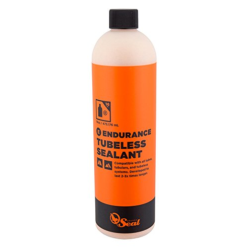 Orange Seal Endurance Tubeless Sealant, 16oz refill (Endurance Tire)