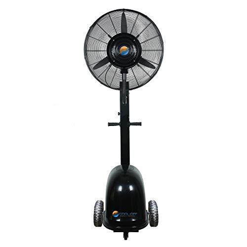 Cool-Off 12 Gallon Island Breeze Oscillating Misting Fan - 26-Inches