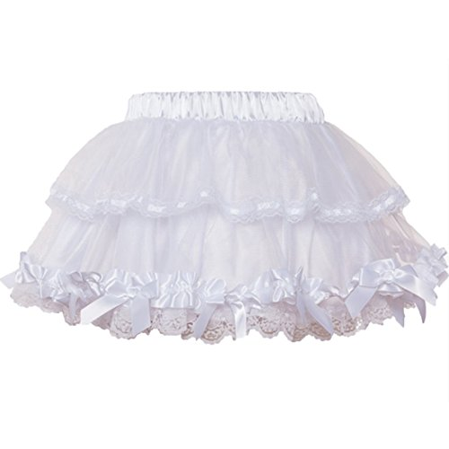(Mini Short Sweet Sexy Club Skirts Womens Multilayer Ball Gown Gothic Lolita Skirt Tulle Petticoat)
