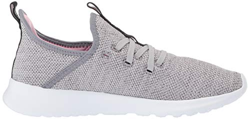 adidas Women's Cloudfoam Pure, Grey/True Pink, 5 M US by adidas (Image #7)