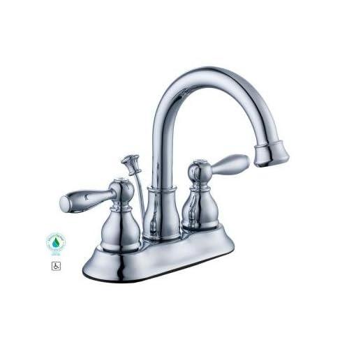Glacier Bay Mandouri 4 in. 2-Handle High Arc Bathroom Faucet in Chrome free shipping