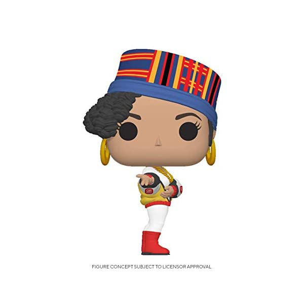Funko Pop! Rocks: Salt-N-Pepa - Salt,Multicolor 1