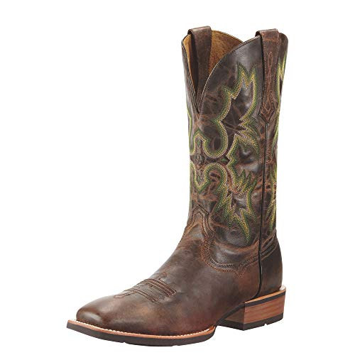 ARIAT Men's Tombstone Western Boot Weathered Chestnut Size 11.5 M Us