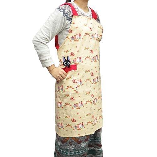Majo H Kiki's delivery service [apron, apron and Gigi rose and Home Studio Ghibli Maru, kitchen goods anime toy store (Kiki Delivery Service Apron)