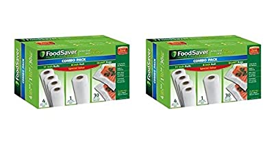 FoodSaver Special Value Vacuum Seal Combo Pack by FoodSaver