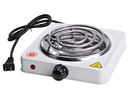 Electric cooking stoves Heat Image Unavailable Amazoncom Amazoncom Cooktops Single Electric Burner Portable Hot Plate Stove