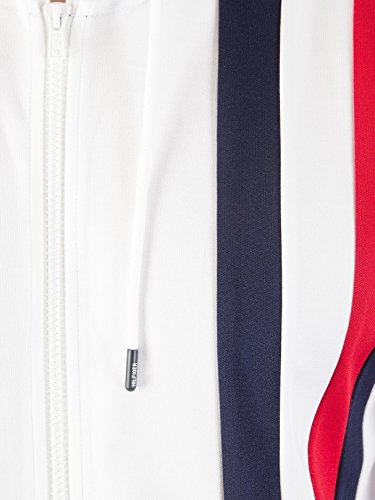 Tommy Hilfiger Men's Sporty Tech Zip Jacket, White, Small by Tommy Hilfiger (Image #1)