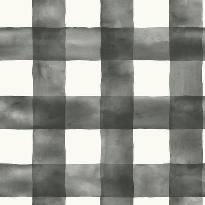 Check Decorator Fabric (Magnolia Home Watercolor Check Removable Wallpaper Multi)