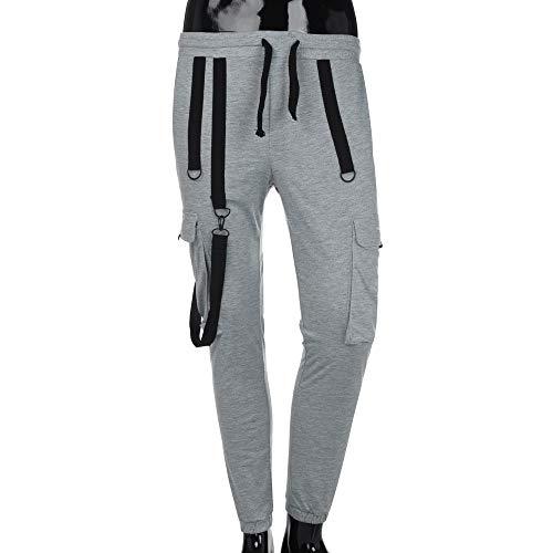 Casuale Sport Grigio Per Tasche Pantaloni Pocket Calda Lavoro Tuta Con Abcone Uomini Uomo Di Pants Della Vendita Canotta Leggings Pantalone Autunno vw5TRpxqg