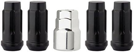 DPAccessories LCB4L8H-04PAR 自動車ホイールロック 4 Locks / 1 Key ブラック LCB4L8HE-BK04LK4