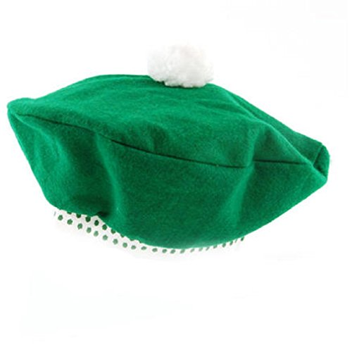 St. Patrick's Day Beret - Costume Hat Parade Party Hat (Parade Quality Costume)