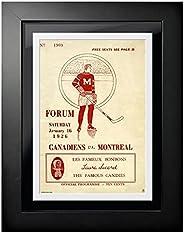 Montreal Canadiens Program Cover - Forum Sports Magazine Canadiens vs. Montreal 1926