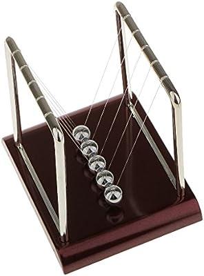 Juguetes Educativos de Conocimiento de Newton Equilibrio Cuna Ciencia F/ísica del Bal/ón P/éndulo Cuadrado S