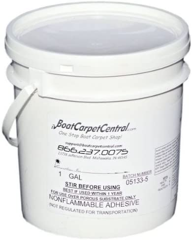 Amazon Com Boat Carpet Glue Gallon Sports Outdoors