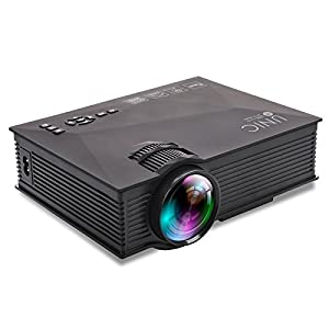 unic WiFi Wireless UC46 Projector Full Color Max 130