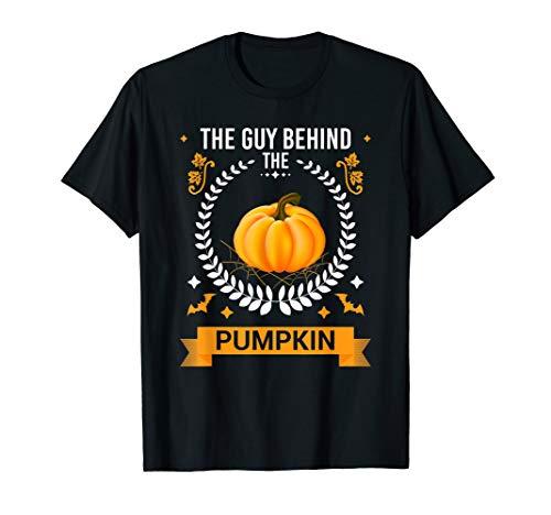The Man Behind The Pumpkin - Halloween Couple Pregnancy Gift ()