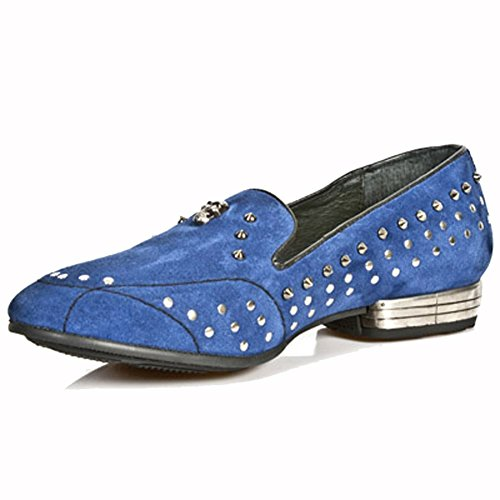 New Rock Sleepers Bleu Chaussons M.8416-S3