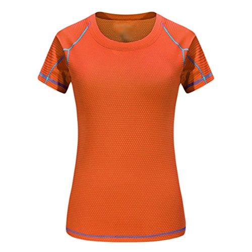 Immagine Unisex Fitness Corta T Asciugatura Manica Yiijee Compressione Sportivi Veloce Core Da 5come shirt A v8ymNwOPn0