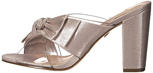 Nina Women's Samina Dress Sandal, Clr Vinyl/New Silver Rf S, 7 M US