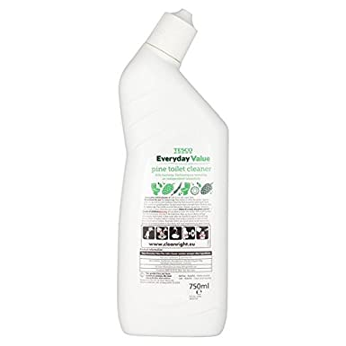 1a2bfa9bf817 Tesco Everyday Value Toilet Cleaner Pine 750Ml: Amazon.co.uk: Grocery