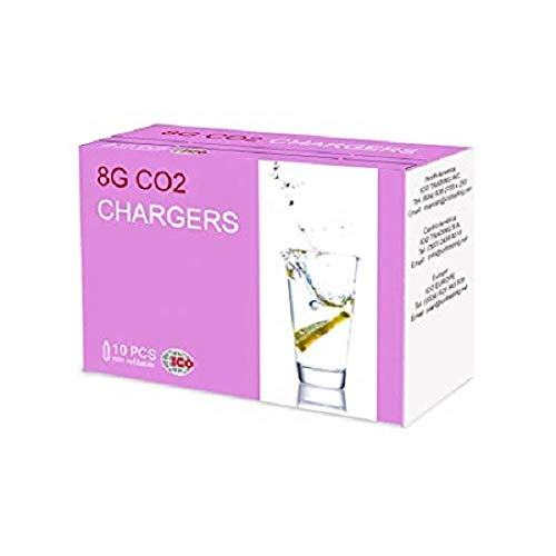 Mosa CO2 Soda Chargers Pack of 50