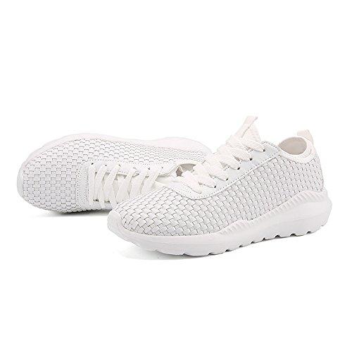 shoes Uomo White Shufang da Corsa Scarpe Aqvvxw6