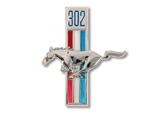 (Mustang Fender Emblem Running Horse LH 302 1968)