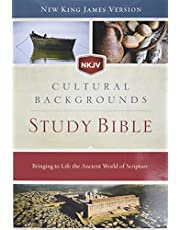 NKJV, Cultural Backgrounds Study Bible, Hardcover, Red Letter: Bringing to Life the Ancient World of Scripture