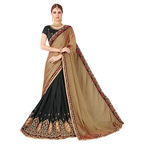 Etnico Donne Collezione Emporium Abiti Ethnic Bollywood Vestono Da Eleganti Indiano 7301 Festa Sari Georgette fTqfIw