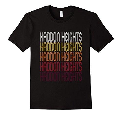 Men's Haddon Heights, NJ | Vintage Style New Jersey T-shirt 2XL Black