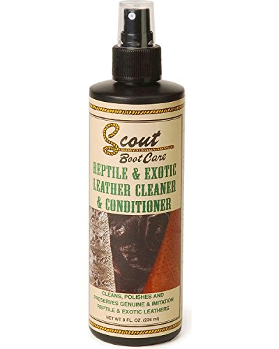 Scout Unisex Reptile And Exotic Leather Cleaner Conditioner Natural One Size - Exotic Natural