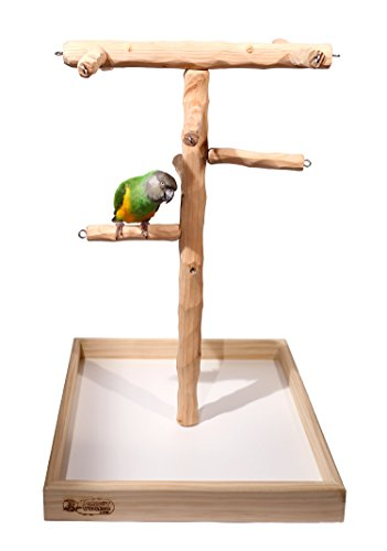 Deluxe NU Perch Tabletop Parrot Climbing Tree