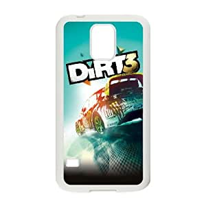 dirt 3 Samsung Galaxy S5 Cell Phone Case White yyfD-399341
