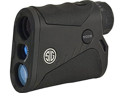 Sig Sauer Kilo 1200 Laser Range Finding Monocular, 4X20MM, HT LCD, BLACK, CLASS 3R (SOK12401) from Sig Sauer