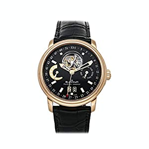 Best Epic Trends 41ZvRtGbgyL._SS300_ Blancpain Leman Mechanical (Automatic) Black Dial Watch 2925-3630-53B (Pre-Owned)